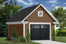 Home Plan - Country Exterior - Front Elevation Plan #23-2274