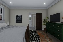 Architectural House Design - Traditional Interior - Master Bedroom Plan #1060-59