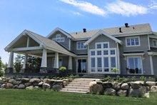 House Plan Design - Traditional Exterior - Rear Elevation Plan #23-2311