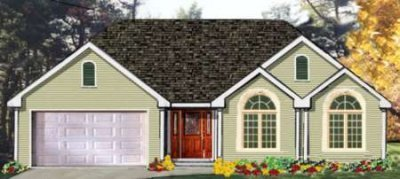 Traditional Exterior - Front Elevation Plan #3-126