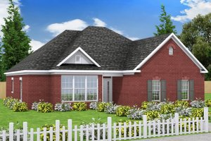 House Plan Design - Traditional Exterior - Front Elevation Plan #20-334