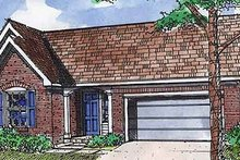 Home Plan - Traditional Exterior - Front Elevation Plan #320-410
