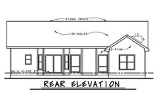 Ranch Exterior - Front Elevation Plan #20-2291