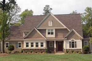 Craftsman Exterior - Front Elevation Plan #413-859