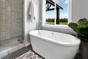 Farmhouse Style House Plan - 3 Beds 2.5 Baths 2878 Sq/Ft Plan #1070-10 Interior - Master Bathroom