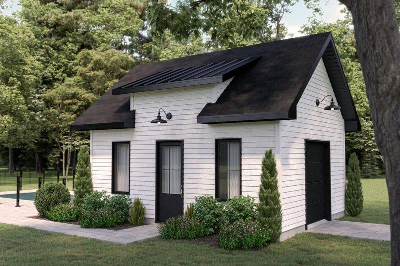 Architectural House Design - Farmhouse Exterior - Front Elevation Plan #23-2744