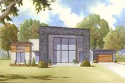 Contemporary Style House Plan - 3 Beds 2.5 Baths 2154 Sq/Ft Plan #17-2603 Exterior - Front Elevation