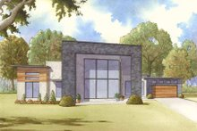 Contemporary Exterior - Front Elevation Plan #17-2603