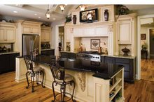 Traditional Interior - Kitchen Plan #929-778