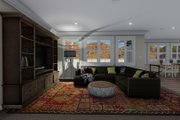 Traditional Style House Plan - 3 Beds 2 Baths 1699 Sq/Ft Plan #1060-60 Interior - Family Room