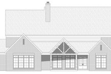 House Plan Design - Country Exterior - Rear Elevation Plan #932-122