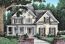 Country Exterior - Front Elevation Plan #927-109