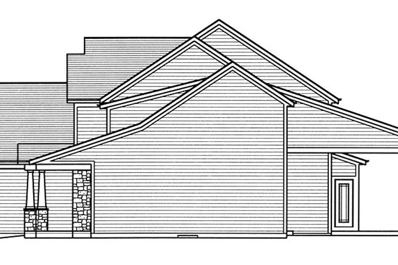 Craftsman Exterior - Other Elevation Plan #46-859 - Houseplans.com