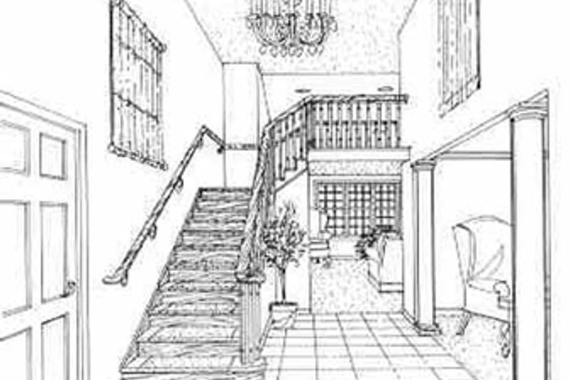 Traditional Interior - Entry Plan #314-275 - Houseplans.com