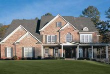 Home Plan - Colonial Exterior - Front Elevation Plan #927-174