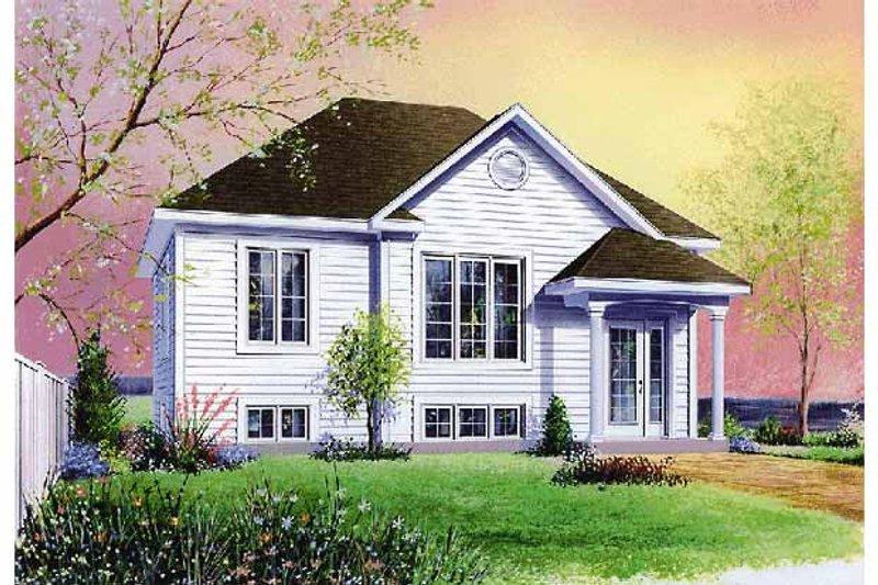 Colonial Exterior - Front Elevation Plan #23-2356 - Houseplans.com