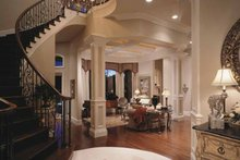 Home Plan - Mediterranean Interior - Entry Plan #417-557