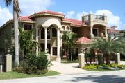 Mediterranean Style House Plan - 6 Beds 7.5 Baths 6664 Sq/Ft Plan #420-191 Photo