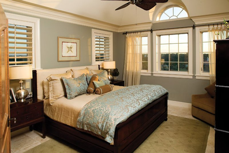 Mediterranean Interior - Bedroom Plan #929-900 - Houseplans.com