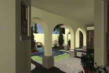 House Plan Design - Mediterranean Exterior - Rear Elevation Plan #930-434