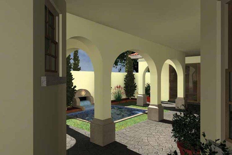 Mediterranean Exterior - Rear Elevation Plan #930-434 - Houseplans.com