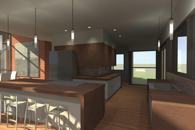 Contemporary Interior - Kitchen Plan #64-324 - Houseplans.com