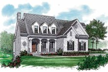 Country Exterior - Front Elevation Plan #453-297