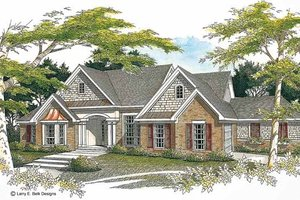 Home Plan - Ranch Exterior - Front Elevation Plan #952-71