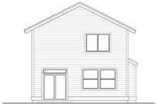 Architectural House Design - Craftsman Exterior - Rear Elevation Plan #53-652