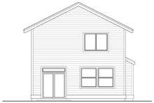 Architectural House Design - Craftsman Exterior - Rear Elevation Plan #53-652