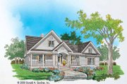 Country Style House Plan - 3 Beds 2 Baths 1724 Sq/Ft Plan #929-577 Exterior - Front Elevation