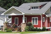 Craftsman Style House Plan - 3 Beds 2.5 Baths 1860 Sq/Ft Plan #461-10 Exterior - Front Elevation