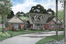Country Exterior - Front Elevation Plan #17-2827