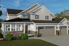 Craftsman Exterior - Front Elevation Plan #1060-65