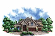 Architectural House Design - Craftsman Exterior - Front Elevation Plan #1017-153