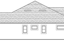 Dream House Plan - Colonial Exterior - Other Elevation Plan #1058-123