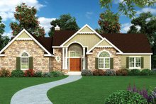 Craftsman Exterior - Front Elevation Plan #314-289