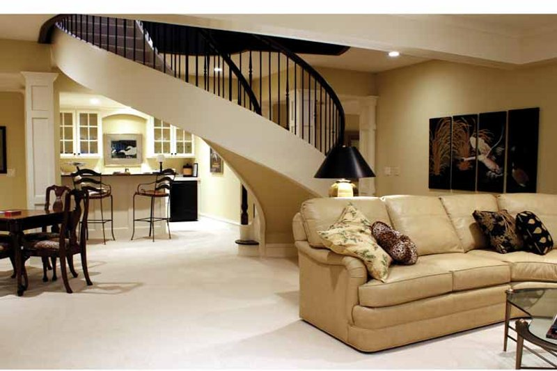 European Interior - Family Room Plan #928-65 - Houseplans.com