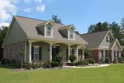 Country Style House Plan - 3 Beds 2 Baths 1800 Sq/Ft Plan #21-190