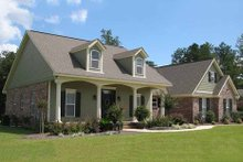 Dream House Plan - Country Exterior - Front Elevation Plan #21-190