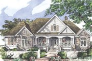Country Style House Plan - 4 Beds 3 Baths 2818 Sq/Ft Plan #929-13 Exterior - Front Elevation