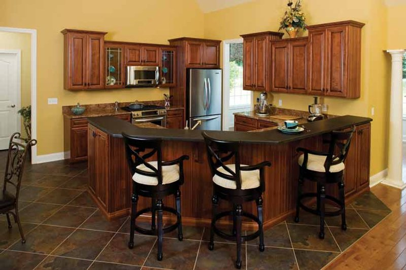 Country Interior - Kitchen Plan #929-425 - Houseplans.com