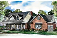 Home Plan - Country Exterior - Front Elevation Plan #17-3117