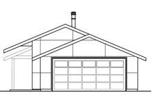 Ranch Exterior - Rear Elevation Plan #124-983