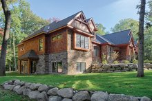 Architectural House Design - Craftsman Exterior - Other Elevation Plan #1057-1