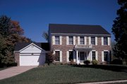 Colonial Style House Plan - 4 Beds 2.5 Baths 2358 Sq/Ft Plan #57-111