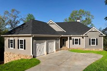 Ranch Exterior - Front Elevation Plan #437-88
