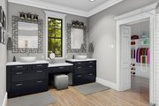 Cottage Style House Plan - 4 Beds 2 Baths 2480 Sq/Ft Plan #406-9656 Interior - Master Bathroom