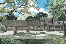 Dream House Plan - Craftsman Exterior - Front Elevation Plan #17-2444