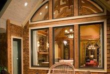 Dream House Plan - Farmhouse Exterior - Outdoor Living Plan #54-390